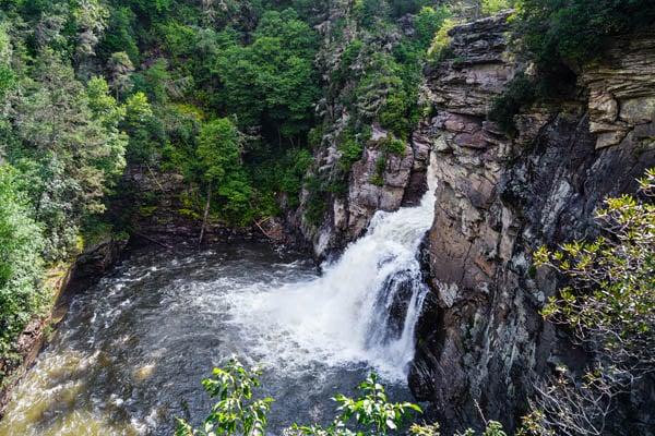 Linville-Falls-NC-blue-ridge-parkway