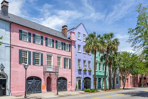 Rainbow-Row-Charleston-South-Carolina-Historic-South-Tour