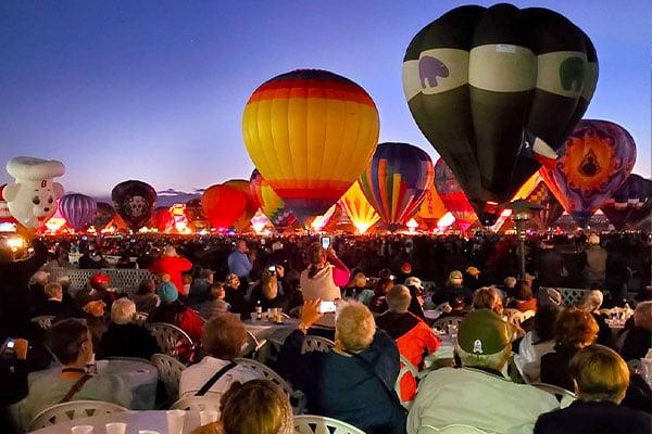 Balloon-Fiesta Albuquerque by Linda Anderson