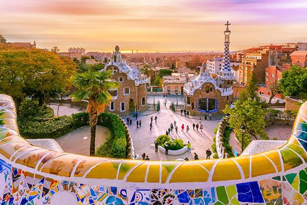 Barcelona-Architecture by Antoni Gaudí