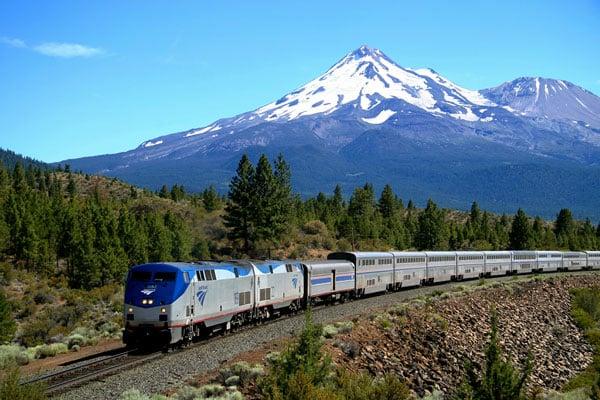 Starlight Train Mt Shasta