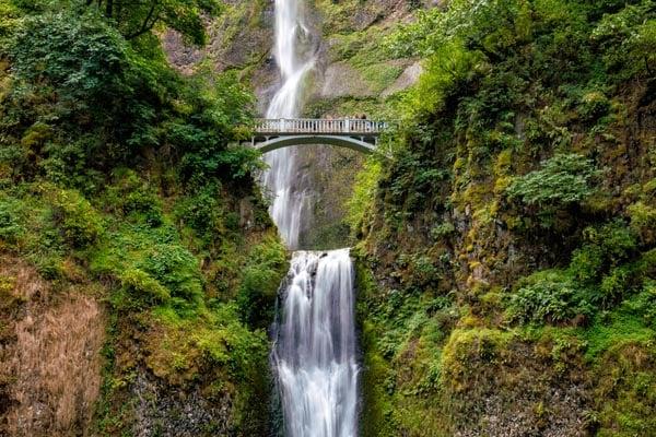 Portland-OR-Multnomah Falls