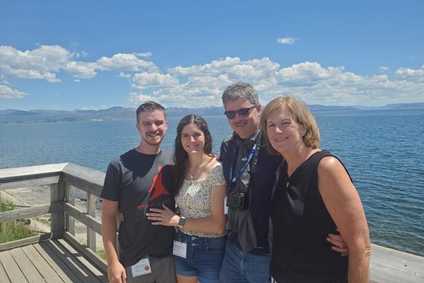 YMT Guests Just Engaged on Rocky Mountains & Black Hills Tour
