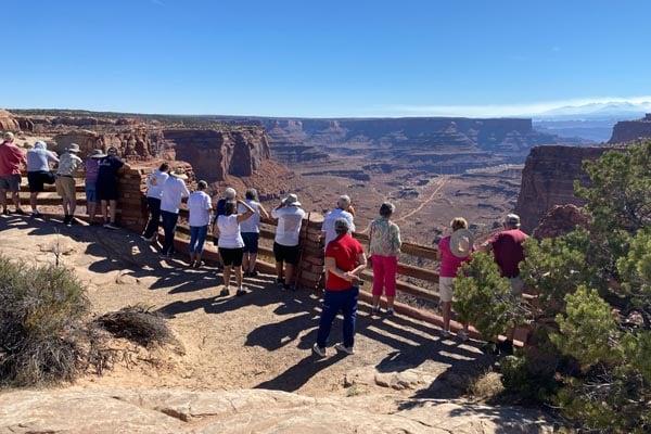 YMT Guests at Grand Canyon National Park AZ