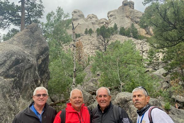 YMT Guests at Mount Rushmore Rocky Mountains and Black HIlls