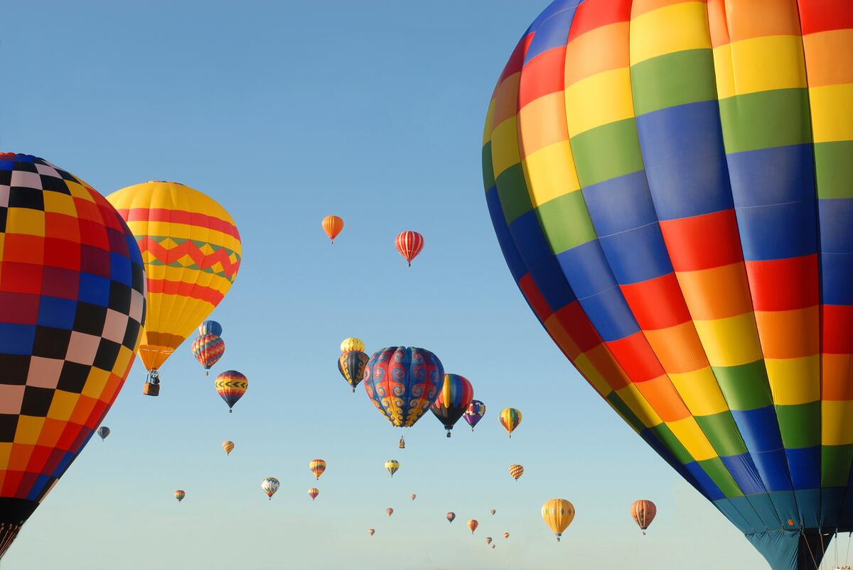 Albuquerque Balloon Fiesta with YMT Vacations