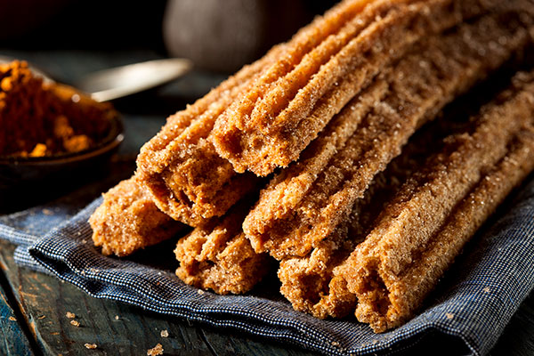 Close Up on Churros